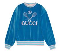 Sweatshirt mit  Tennis-Logo