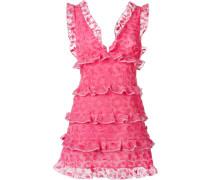 Gerüschtes Kleid