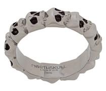 'Medius' Ring mit Totenkopf