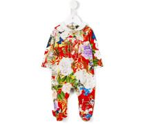 Pyjama mit Blumen-Print
