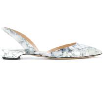Ballerinas mit marmoriertem Effekt