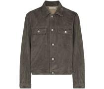 Mono buttoned denim jacket