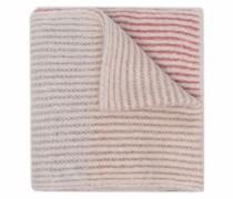 Langer Schal in Colour-Block-Optik