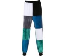 Jogginghose in Colour-Block-Optik