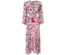 'Nakkita' Kleid mit Blumen-Print