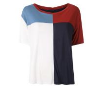 'Nadal' Bluse in Colour-Block-Optik