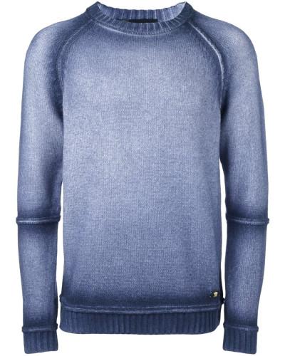 versace herren pullover mit rundem ausschnitt reduziert. Black Bedroom Furniture Sets. Home Design Ideas