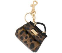 mini Sicily bag keyring