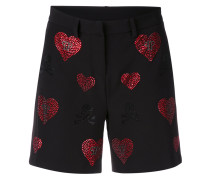 'Indi Lake' Shorts mit SwarovskiKristallen