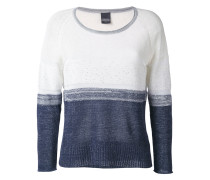 - colour block jumper - women