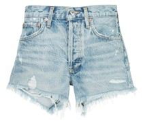 'Parker' Jeansshorts in Distressed-Optik