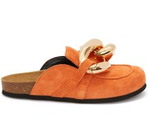 WOMEN'S CHAIN LOAFER - SUEDE