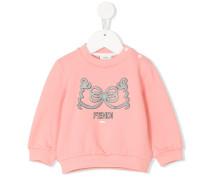 bow print sweatshirt