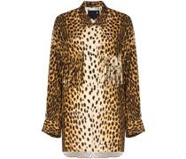 Hemd mit Geparden-Print