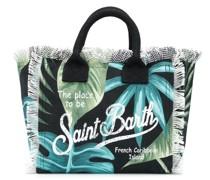 Handtasche mit Blätter-Print