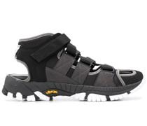 'Vibram' Sneakers mit Kontrastsohle