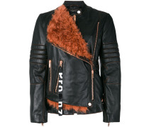 lamb fur lined jacket