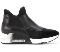 'Lazer' High-Top-Sneakers mit Wildledereinsätzen