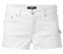 Jeans-Shorts mit Sicherheitsnadel