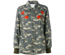 Military-Jacke mit Patches - women - Baumwolle