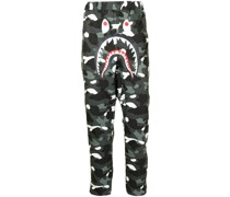 A BATHING APE® Hose mit Camouflage-Print
