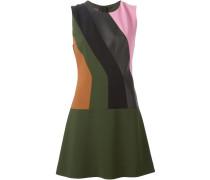 Ärmelloses Kleid mit Streifen