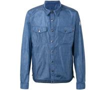 Hemdjacke mit Jeans-Effekt - men