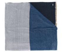 Schal mit Streifen - men - Leinen/Flachs/Nylon