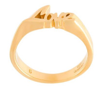 'Eighties' Ring aus Gold-Vermeil