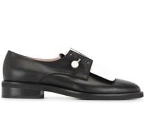 Oxford-Schuhe mit Perlen