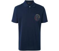 Poloshirt mit Patch - men - Baumwolle - L