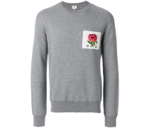 rose patch jumper