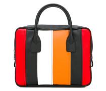 Handtasche mit Längsstreifen - women - PVC