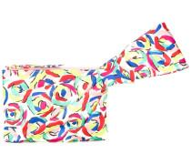 Clutch mit Print - women - Seide - Einheitsgröße