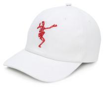 Baseballkappe mit Skelett-Stickerei