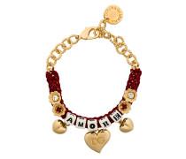 "Gewebtes Armband mit ""Amore""Schriftzug"