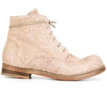 - Stiefel mit Schnürung - men - Pferdeleder/Leder