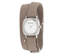 Gewickelte 'Clubmaster' Armbanduhr