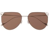 Sonnenbrille mit abgerundetem Gestell