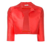 Cropped-Jacke - women - Seide/Polyester - M