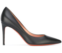 Stiletto-Pumps mit Kontrastsohle