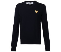 Pullover mit Logo-Stickerei - men - Wolle - S