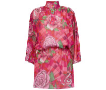 funel neck floral dress - Unavailable