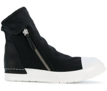 High-Top-Sneakers mit Kontrastkappe