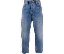 Jeans mit weitem Bein