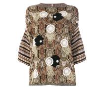 macrame embellished jumper