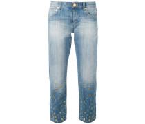 Jeans mit Verzierungen - women