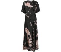 Kleid mit Adler-Print