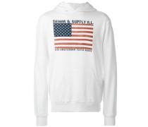 Kapuzenpullover mit USA-Flagge - men
