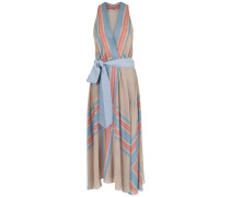printed silk dress - Unavailable